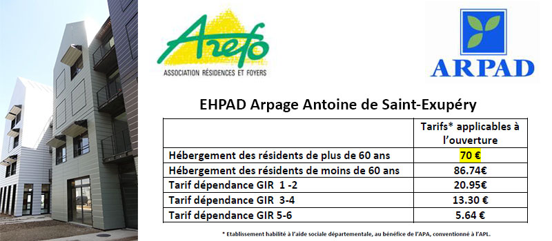 L'Arpage Antoine de Saint-Exupéry a ouvert ses portes à Villejuif le 1er décembre 2014