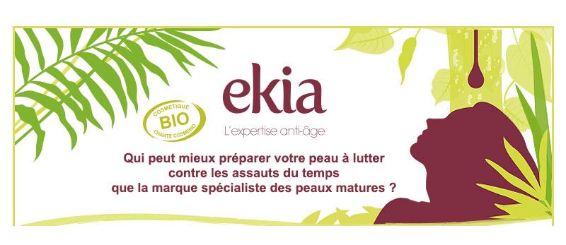 EKIA, l'expert des peaux matures, présente sa nouvelle crème bio pour les femmes âgées de 35 à 45 ans
