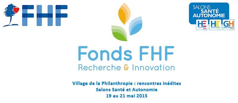 Rencontres inédites sur le Village de la Philanthropie, du 19 au 21 mai, aux Salons Santé Autonomie