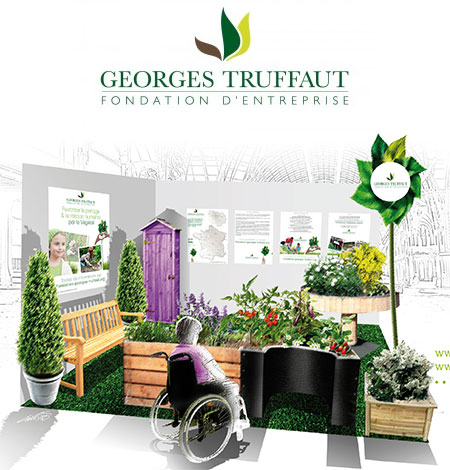 La fondation d 39 entreprise georges truffaut l 39 art du for Jardin therapeutique