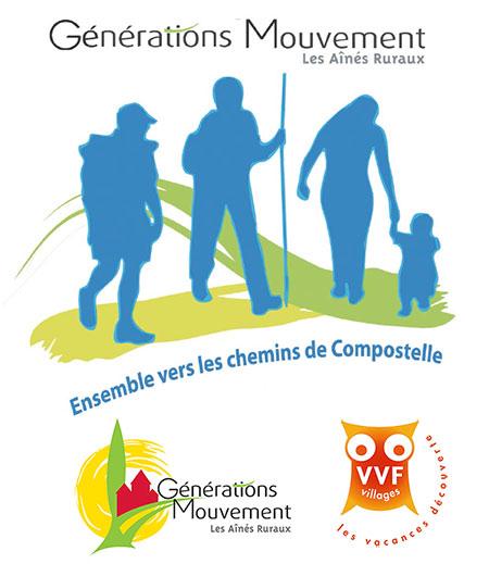 Générations Mouvement lance la 3ième édition de l'opération Ensemble vers les Chemins de Compostelle