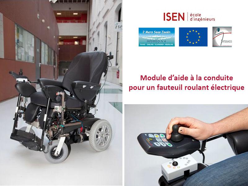 le fauteuil roulant intelligent mis au point par des chercheurs de l isen