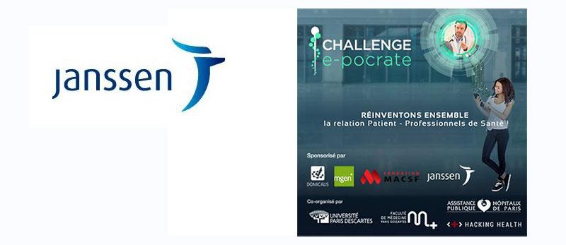 janssen france soutient le 1er challenge en ligne d