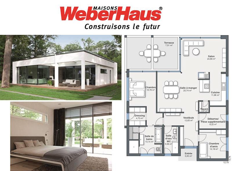 logement personnes ag es maisons weberhaus pr sente sa gamme de maisons pour seniors. Black Bedroom Furniture Sets. Home Design Ideas
