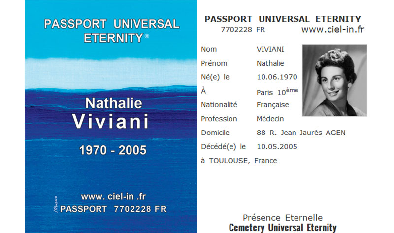 MPPM lance le « Passport Universal Eternity », une nouvelle façon d'honorer la mémoire des défunts !