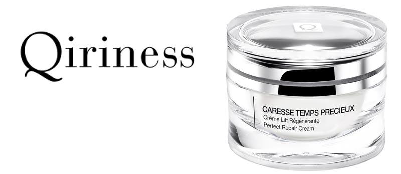 Nouveauté Automne 2015 chez QIRINESS : crème Lift Régénérante dans la gamme Temps Précieux