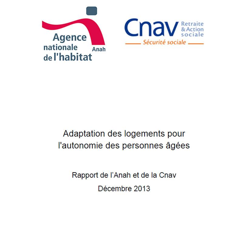 Remise du rapport cnav anah sur l 39 adaptation des logements l 39 autonomie des g s for Caisse nationale de logement