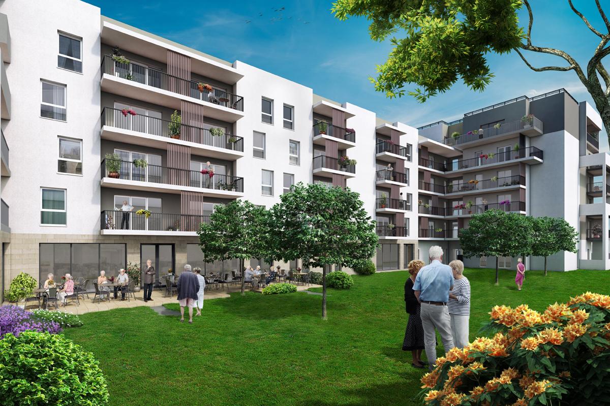 R sidence service les jardins d 39 arcadie les terrasses du for Jardin residence