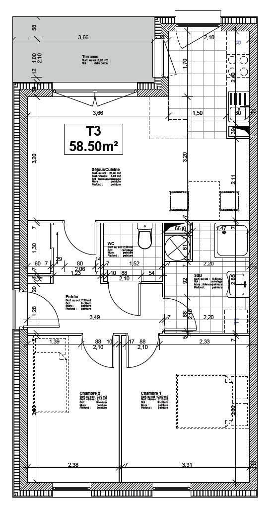 plan appartement senior