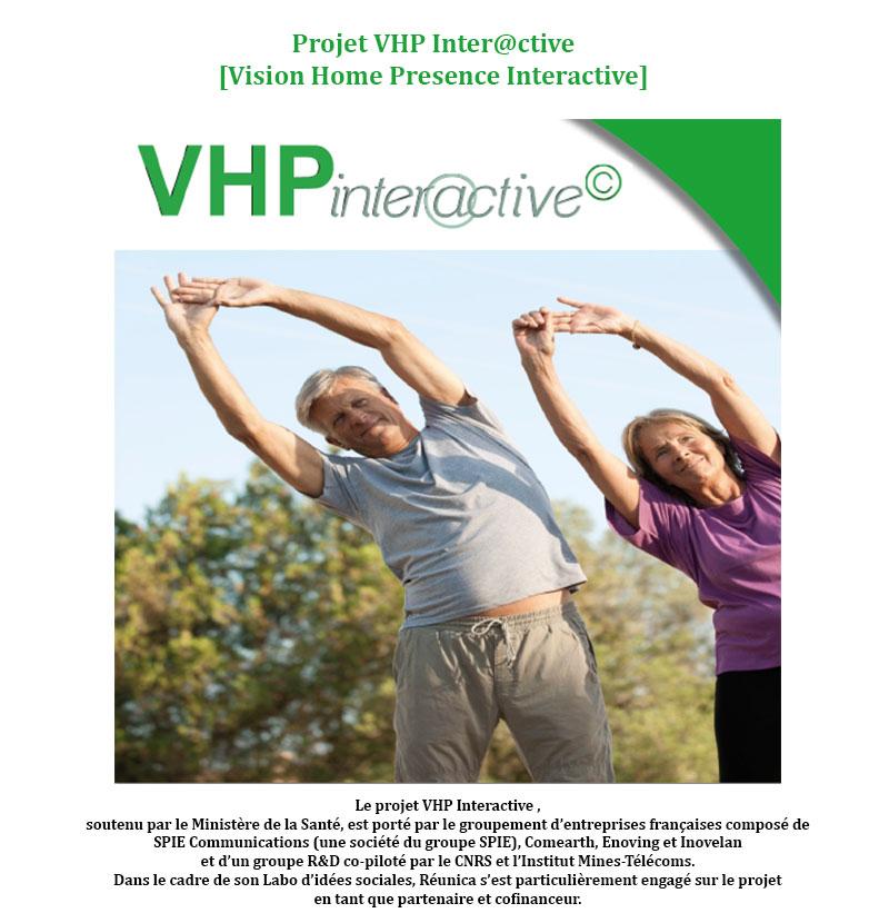 Le projet VHP INTER@CTIVE : des Papy Boomers acteurs de leur santé