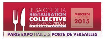 Restauration responsable en collectivit - Salon de la restauration collective ...