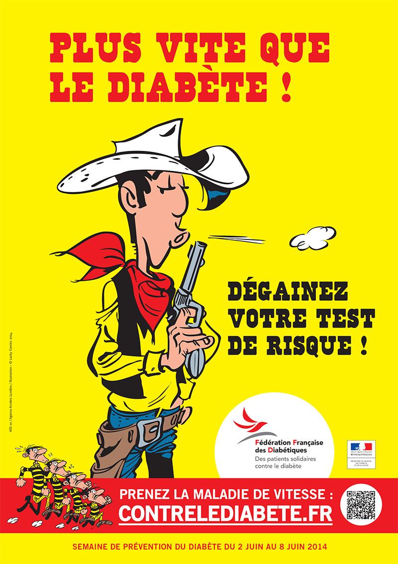 Plus vite que le diabète ! Semaine de Prévention Contre le Diabète du 2 au 8 juin 2014