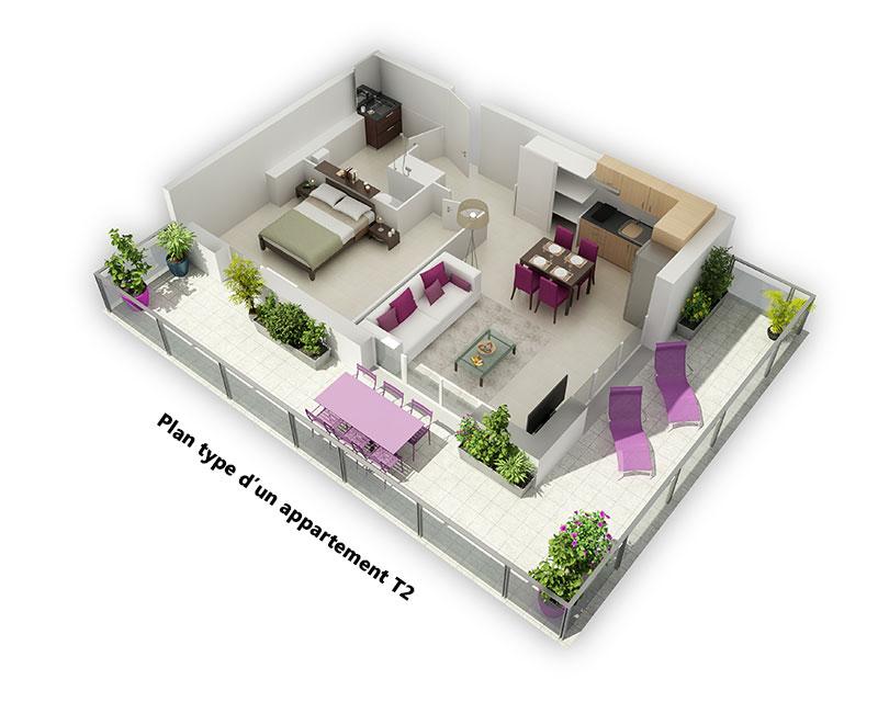 investir n mes dans un t2 au sein d 39 une r sidence services seniors. Black Bedroom Furniture Sets. Home Design Ideas