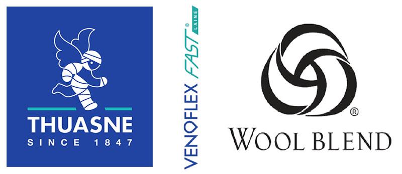 Venoflex Fast Laine de Thuasne devient le premier produit médical licencié Wool Blend