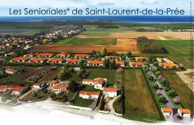 Inauguration résidence St Laurent de la Prée (17) # Domaine Du Bois Saint Laurent De La Prée