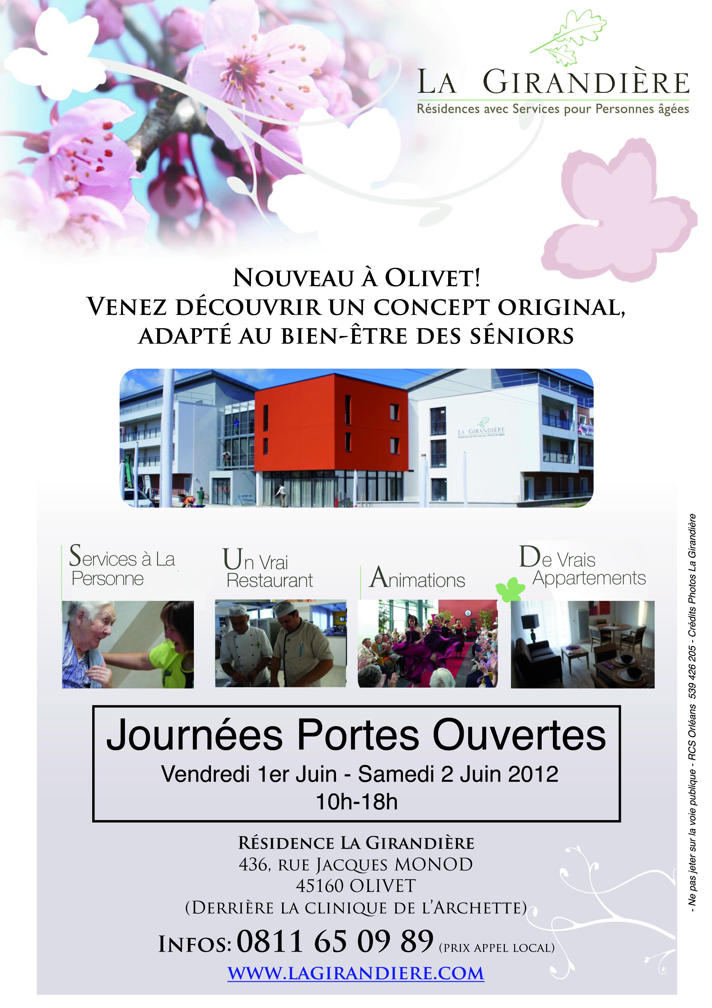 Ouverture de la girandi re d 39 olivet pr s d 39 orl ans 45 for Salon de the porte d orleans