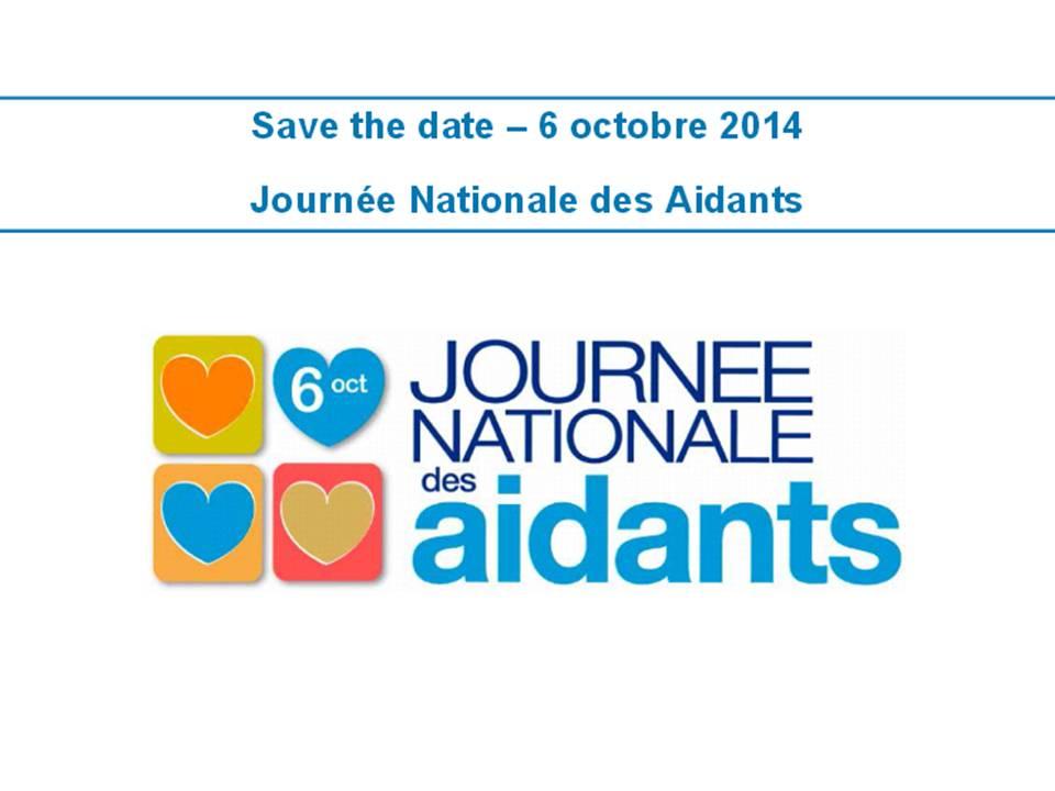 Journée nationale des aidants le 6 octobre prochain