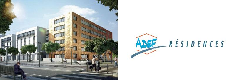 ADEF Résidences retenu pour la reprise de l'Hôpital Nord 92