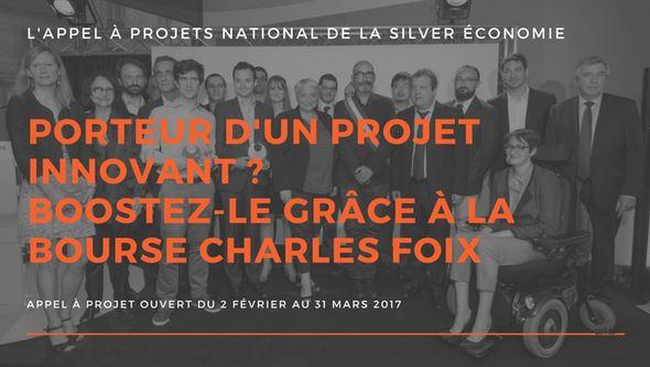 Innovation et Seniors :  Participez à la 14e édition de la Bourse Charles Foix