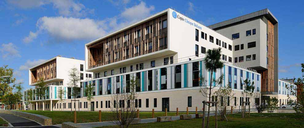 Bayonne : Inauguration de la clinique Capio Belharra