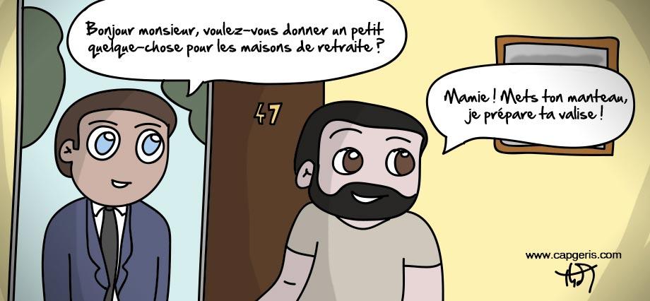 Humour maison de retraite for Achat maison de retraite