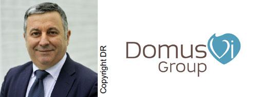 Nouveau directeur général pour le groupe DomusVi